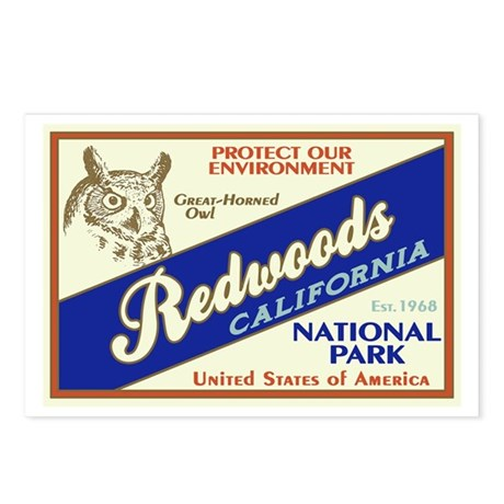 Redwoods (Owl) Postcards (Package of 8)