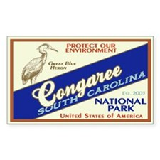 Congaree (Heron) Rectangle Decal