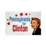 Pennsylvania for Clinton Political Magnet