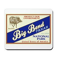 Big Bend (Javelina) Mousepad