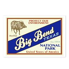 Big Bend (Javelina) Postcards (Package of 8)