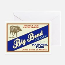 Big Bend (Javelina) Greeting Card