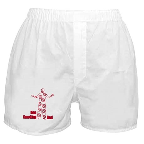 Non Smoking Dad Father's Day Boxer Shorts