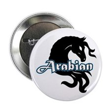 "Arabian Horse 2.25"" Button"