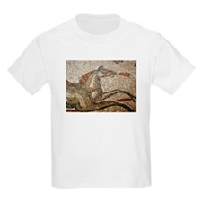 Fire Breathing Horse Mosaic T-Shirt