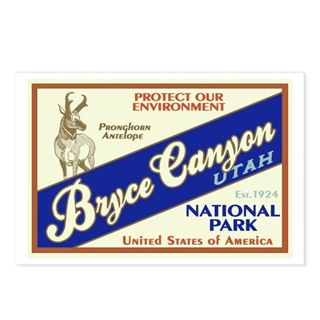 Bryce Canyon (Antelope) Postcards (Package of 8)