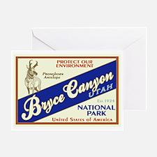Bryce Canyon (Antelope) Greeting Card