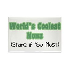 World's Coolest Nona Rectangle Magnet