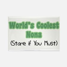 World's Coolest Nona Rectangle Magnet