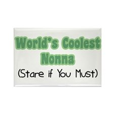 World's Coolest Nonna Rectangle Magnet