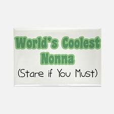 World's Coolest Nonna Rectangle Magnet