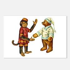 MONKEY & BEAR Postcards (Package of 8)