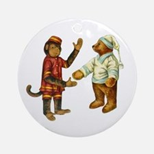 MONKEY & BEAR Ornament (Round)