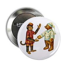 """MONKEY & BEAR 2.25"""" Button"""