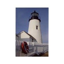 Pemaquid Light Rectangle Magnet