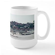 Portland Maine Skyline from the harbor Mug