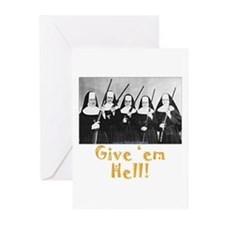 Give 'em Hell Greeting Cards (Pk of 20)