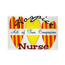 Hospice Nurse Rectangle Magnet