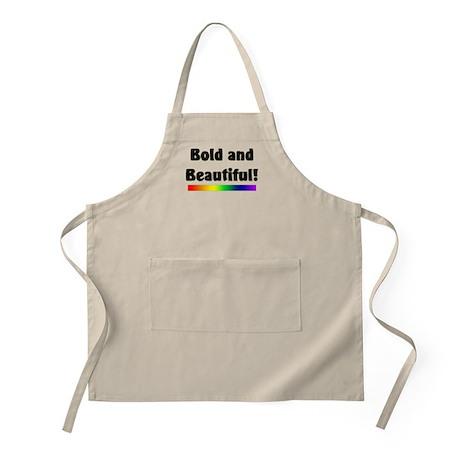 Bold and Beautiful! BBQ Apron