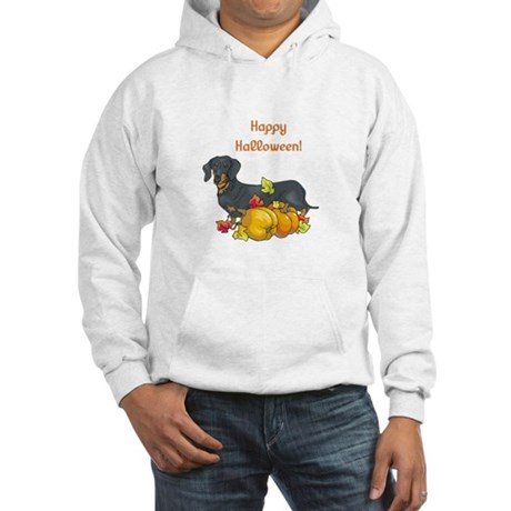 Happy Halloween Dachshund Hooded Sweatshirt