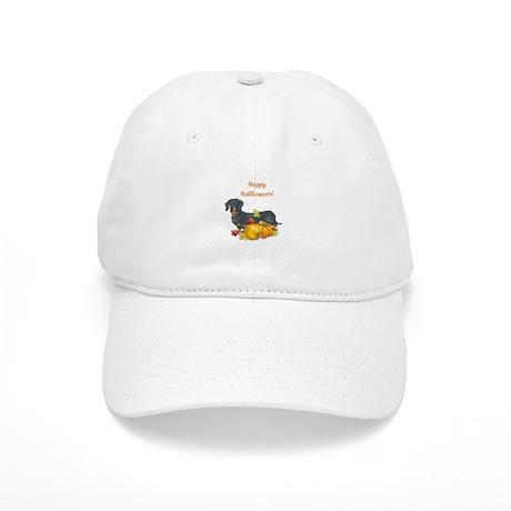 Happy Halloween Dachshund Cap