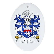 Crew (of Holt, Denbighshire) Oval Ornament