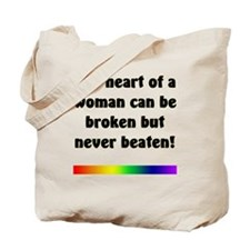 The Heart of a Woman Tote Bag