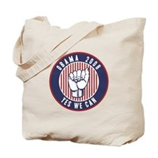 Obama Yes We Can Tote Bag