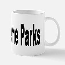 I Love Theme Parks Mug