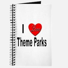 I Love Theme Parks Journal