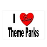 I Love Theme Parks Postcards (Package of 8)