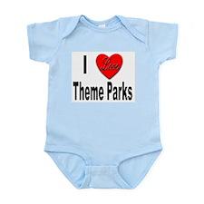 I Love Theme Parks Infant Creeper