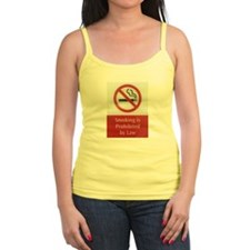No Smoking Law Jr.Spaghetti Strap