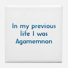 PL Agamemnon Tile Coaster