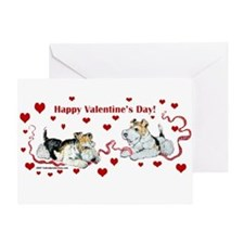 Fox Terrier Holiday Greeting Card