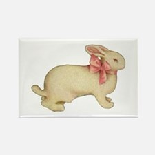 PLUSH EASTER BUNNY Rectangle Magnet