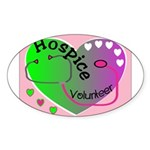 Nursing Assistant Oval Sticker