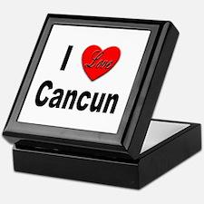 I Love Cancun Keepsake Box