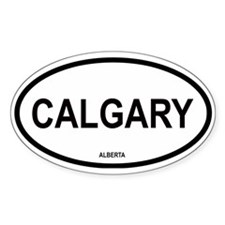 Calgary Oval Decal