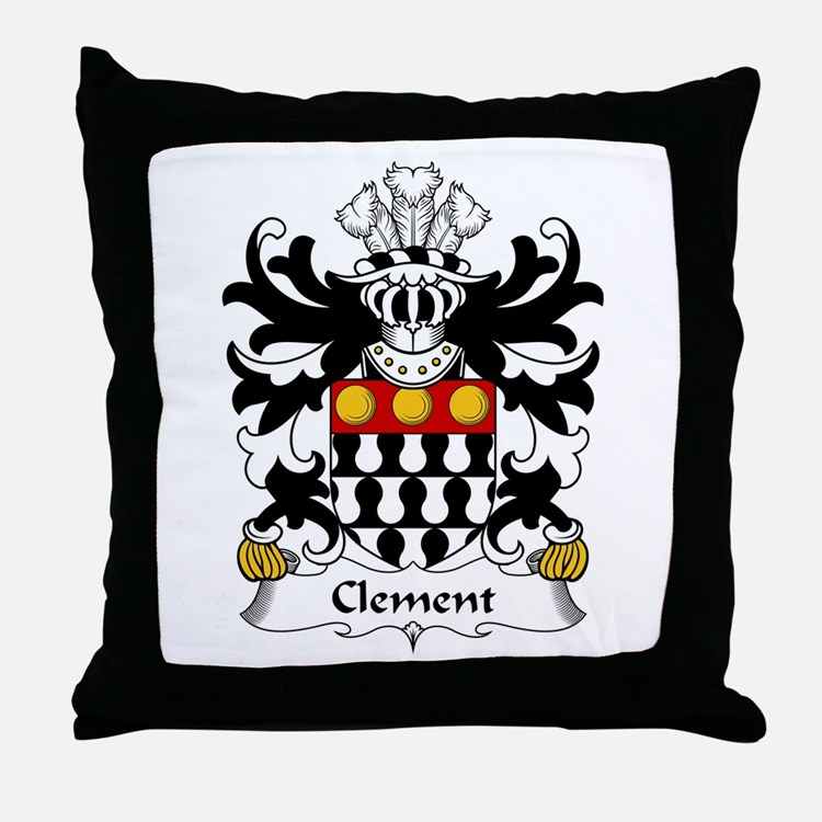 Clement (of Cardiganshire) Throw Pillow