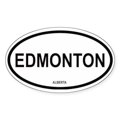 Edmonton Oval Sticker