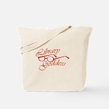 Library Goddess Tote Bag
