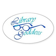 Library Goddess Decal