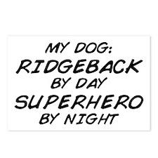 Ridgeback Superhero by Night Postcards (Package of