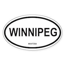 Winnipeg Oval Decal
