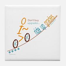 Bike up grades Tile Coaster
