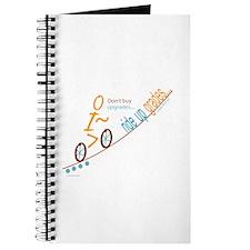 Bike up grades Journal