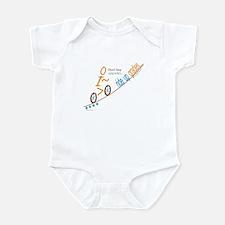 Bike up grades Infant Bodysuit