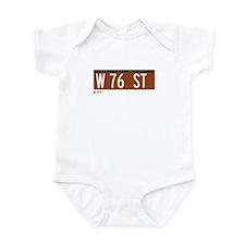 76th Street in NY Infant Bodysuit