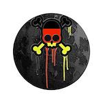 German Punk Skull 3.5